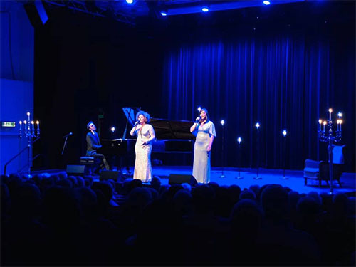 Martin Berggren (piano), Laila Adèle & Viktoria Tocca