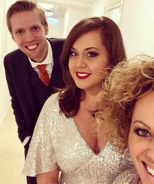 Martin Berggren, Viktoria Tocca & Laila Adèle